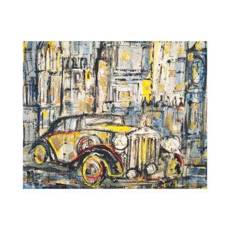 Johnathan's Dream, London Mist, Peter Stilton Art Canvas Print