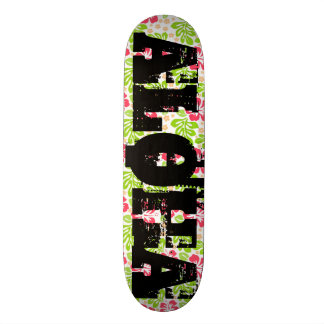Johnny Aloha Custom Pro Park Board 18.1 Cm Old School Skateboard Deck