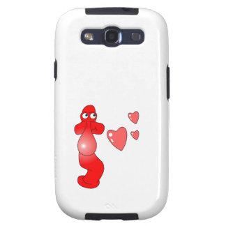 Johnny Condom Love Samsung Galaxy SIII Covers