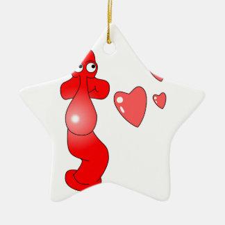 Johnny Condom Love Christmas Ornaments