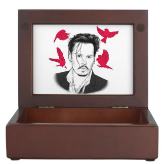 Johnny Depp Keepsake Box