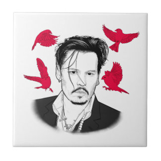 Johnny Depp Tile
