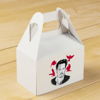 Johnny Depp Wedding Favour Box