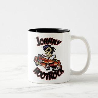 JOHNNY HOOTROCK two-tone mug