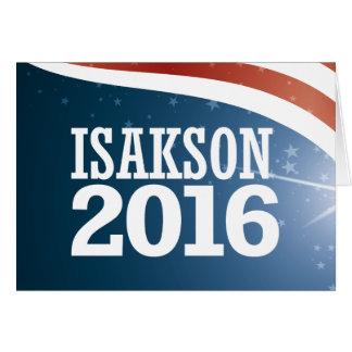 Johnny Isakson 2016 Card