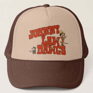 Johnny Law Dawgs Trucker Hat