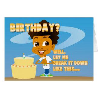 Johnny Nutshell | Birthday Party Invitation