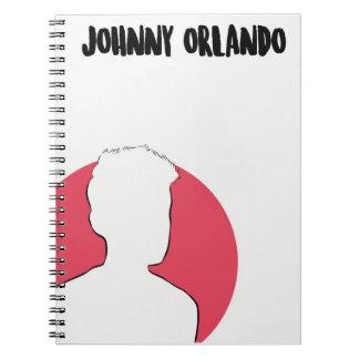Johnny Orlando Simple Art Notebook