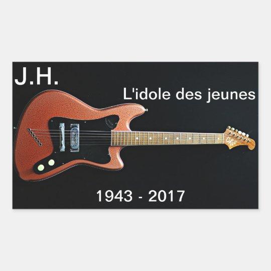 Johnny Rectangular Sticker