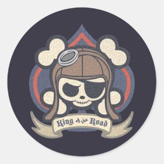 Johnny Spade Round Sticker