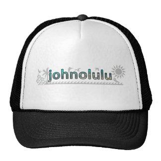 """""""johnolulu"""" trucker hat"""