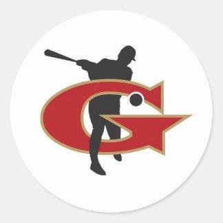 Johns Creek Generals Classic Round Sticker