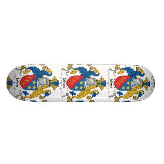 Johns Family Crest Custom Skateboard