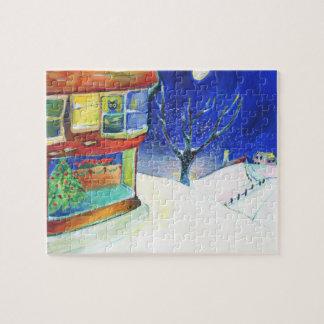 John's Perch Christmas Jigsaw Puzzle