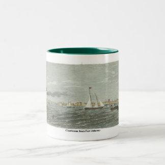 Johnson-Charleston Two-Tone Coffee Mug