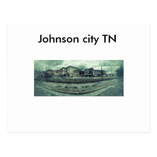 Johnson city TN post card