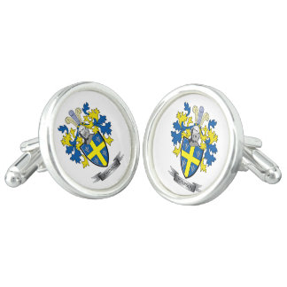 Johnson Coat of Arms Cuff Links