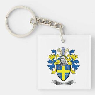 Johnson Coat of Arms Key Ring