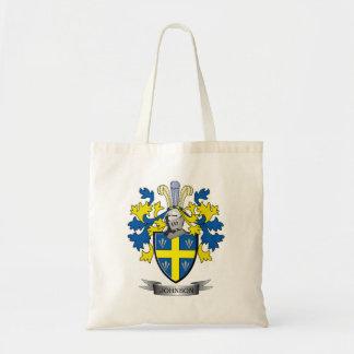 Johnson Coat of Arms Tote Bag