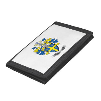 Johnson Coat of Arms Trifold Wallets