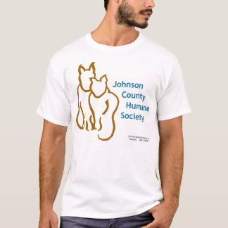 Johnson County Humane Society Logo T-shirt