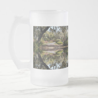 Johnson Rd Frosted 16 oz Frosted Glass Mug