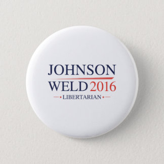 Johnson Weld 2016 6 Cm Round Badge
