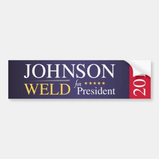 Johnson Weld 2016 Bumper Sticker