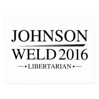 Johnson Weld 2016 Postcard