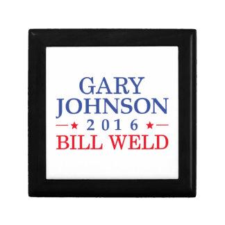 Johnson Weld 2016 Small Square Gift Box