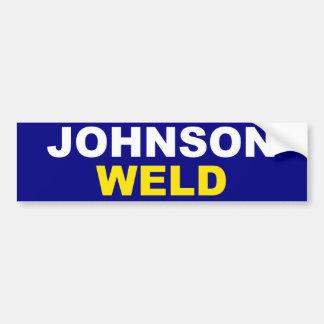 Johnson-Weld Bumper Sticker