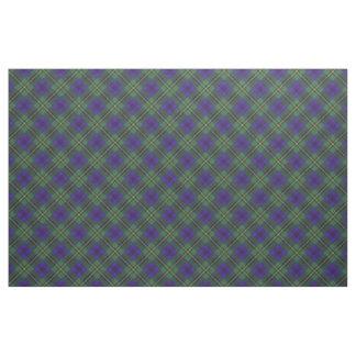 Johnston clan Plaid Scottish tartan Fabric