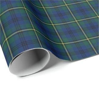 Johnston Clan Tartan Wrapping Paper