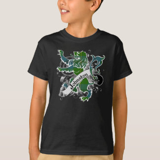 Johnston Tartan Lion T-Shirt
