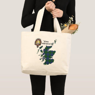 Johnstone Clan Badge Jumbo Tote
