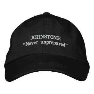 Johnstone Clan Motto Embroidered Hat