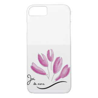 Joi de vivre pink case for iPhone