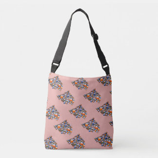 Join - bag with colorful space bubble pattern