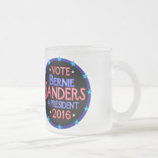 Join Bernie Sanders Political Revolution Frosted Glass Coffee Mug