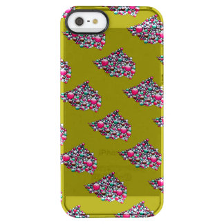 Join - clear phone case with colorful bubble art