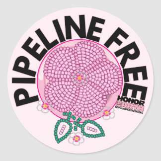 Join Honor the Earth Breast Cancer Awareness Month Classic Round Sticker