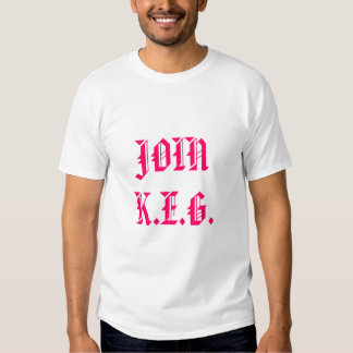 JOIN K.E.G. TEE SHIRT