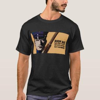 Join Me Land Sea US Marines T-Shirt