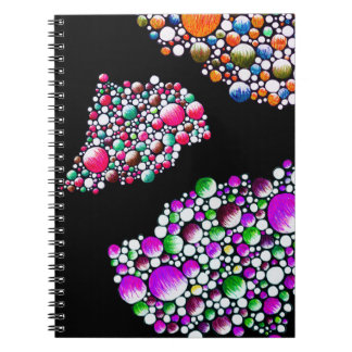 Join - notebook with colorful balloon art stylish