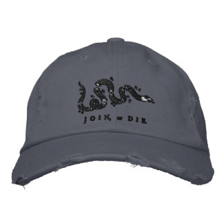 Join or Die Embroidered Hat