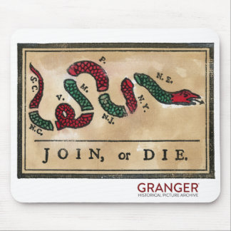 Join or Die Mouse Pad