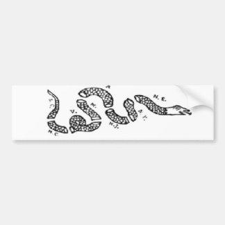 Join Or Die Snake Bumper Sticker