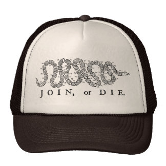 Join or Die Sublimated Foam Trucker Hat
