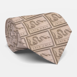 """Join or Die"" Tie"