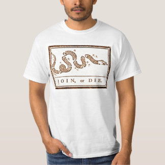 Join or Die Vintage Americana T-Shirt